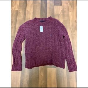 NWT Super Soft American Eagle Burgundy Sweater